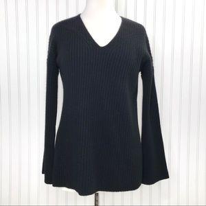 Rag & Bone Cashmere Phyllis Knit Sweater V-Neck XS